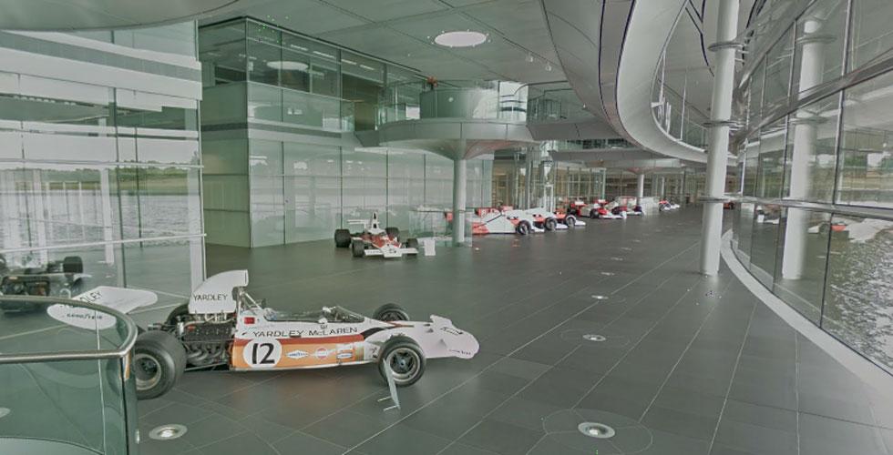 Visitez le McLaren Technology Centre grâce à Street View