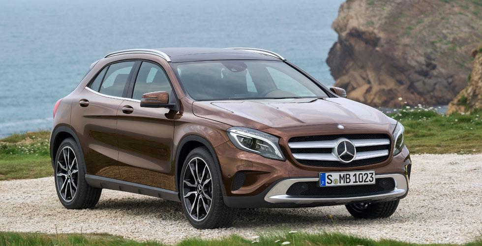 Nouveauté : Mercedes GLA