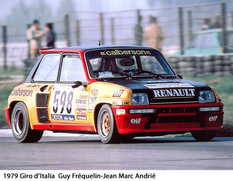 La Renault 5 Turbo du Giro d'Italia 1979 : la naissance d'un mythe