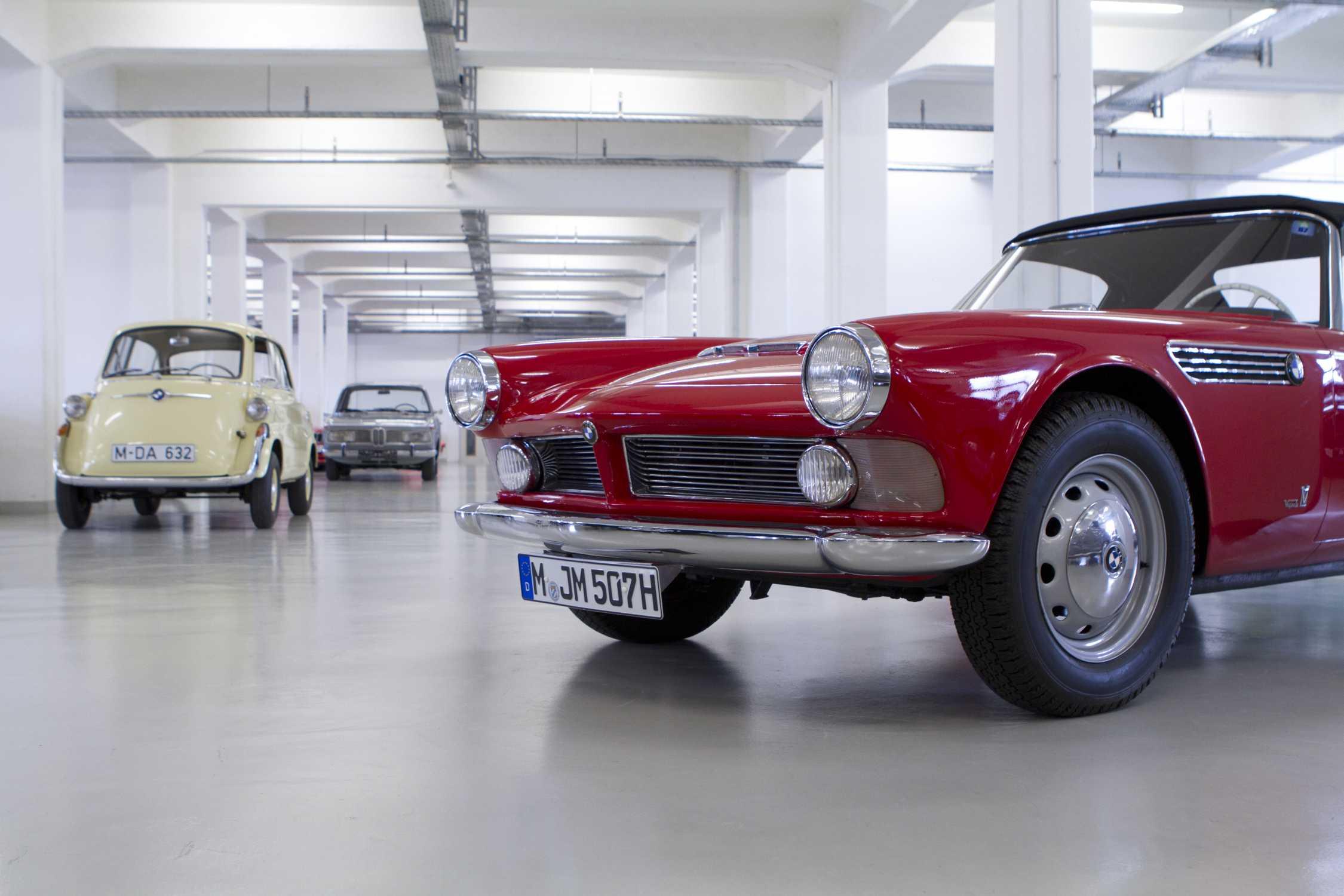 La visite du conservatoire BMW Classic