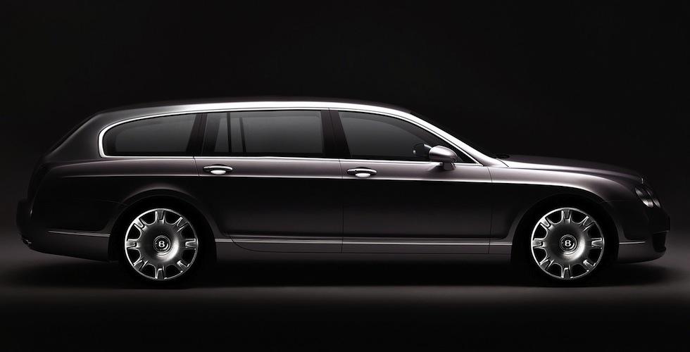 Bentley Continental Flying Spur Wagon : le faux parfait