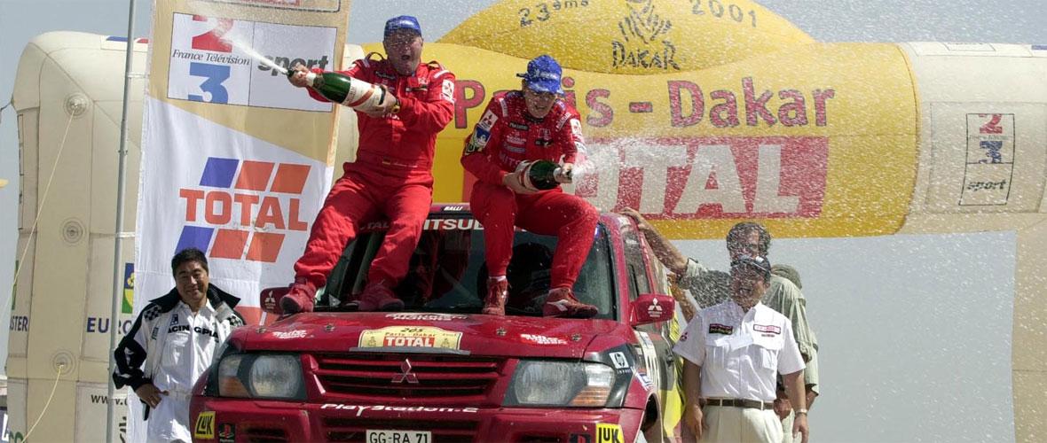 La première victoire féminine sur le Dakar