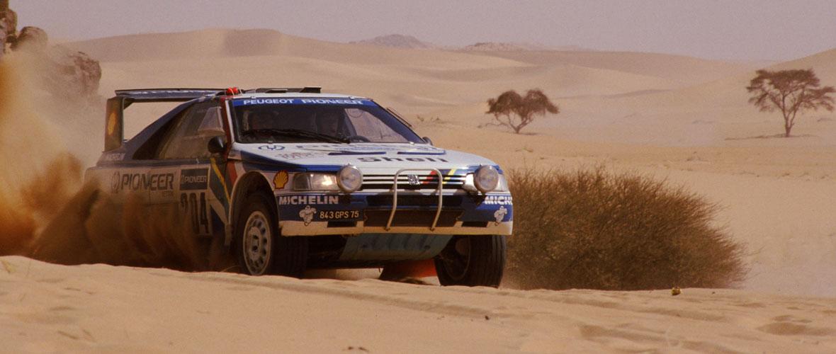 Le vol de la Peugeot 405 T16 d'Ari Vatanen au Dakar