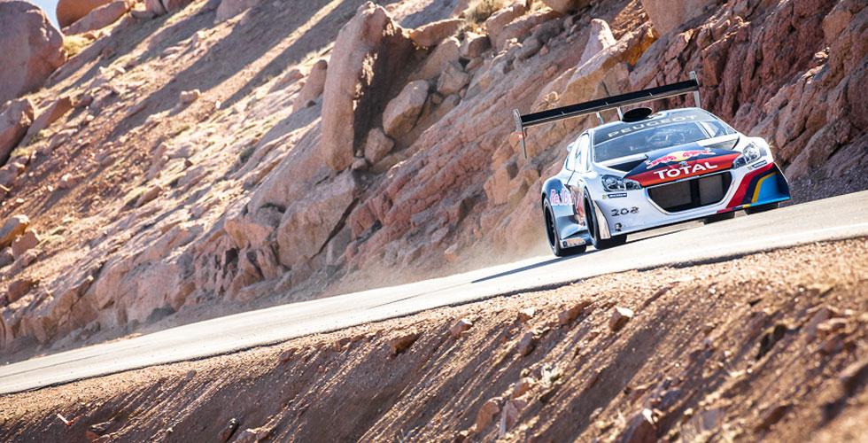 Photos : Sébastien Loeb à Pikes Peak