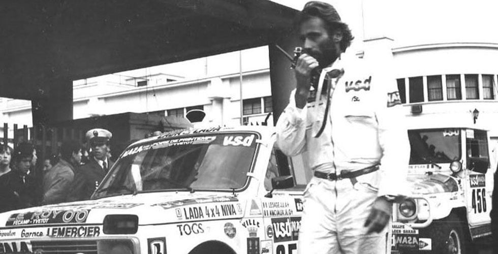 Le premier Dakar de Thierry Sabine