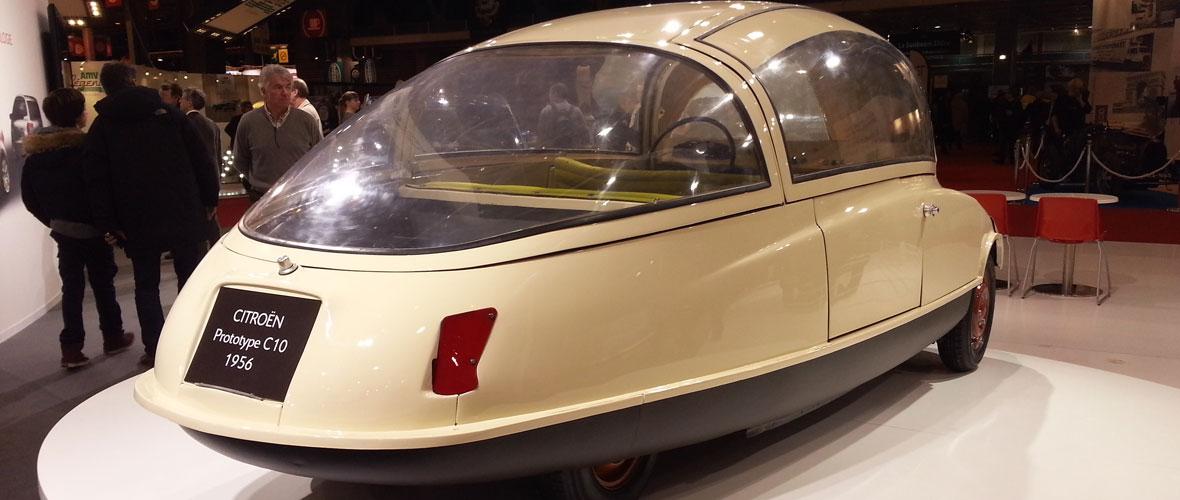 Rétromobile 2014 : Citroën C10