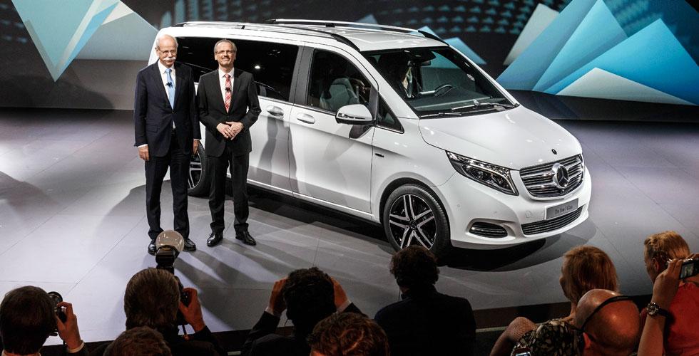 Nouveauté : Mercedes Classe V