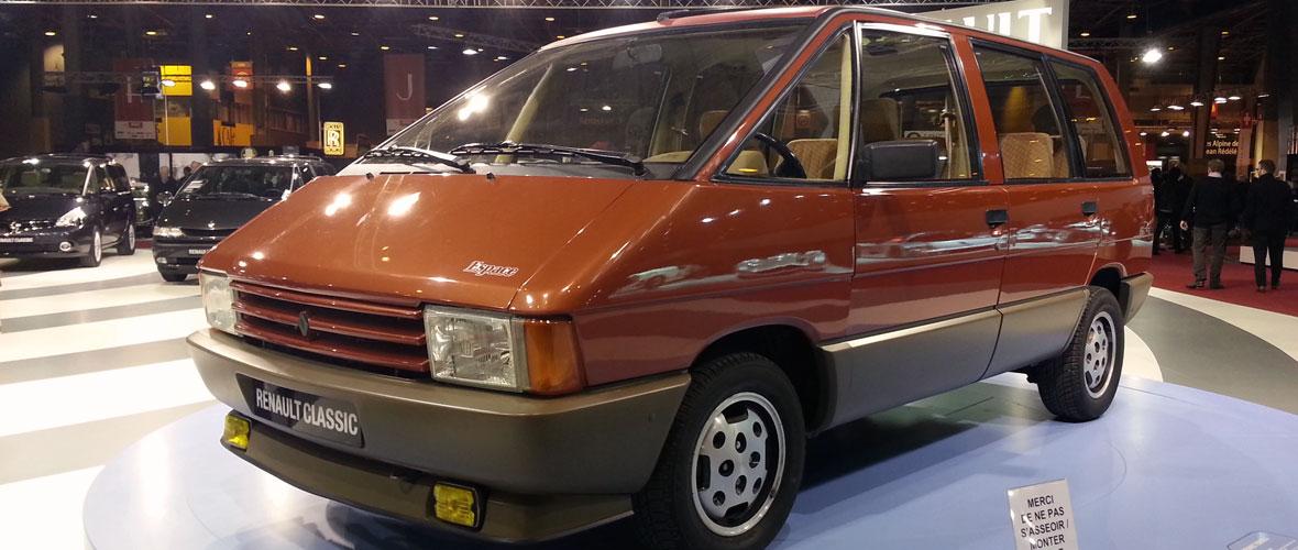 Rétromobile 2014 : Renault Espace