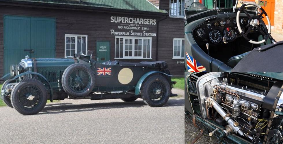 Commissaire-priseur : Bentley 4 ½ Litre