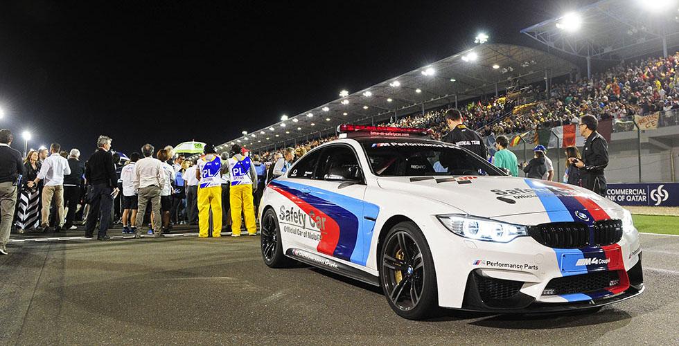 MotoGP : BMW M4 Coupé en safety cars de luxe