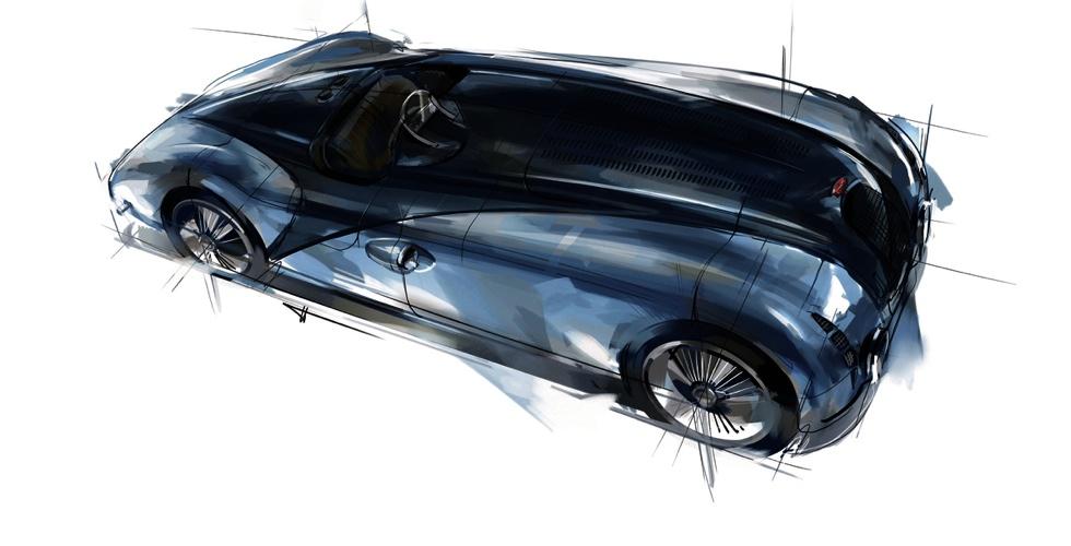 Dessin : Bugatti Type 57G Tank