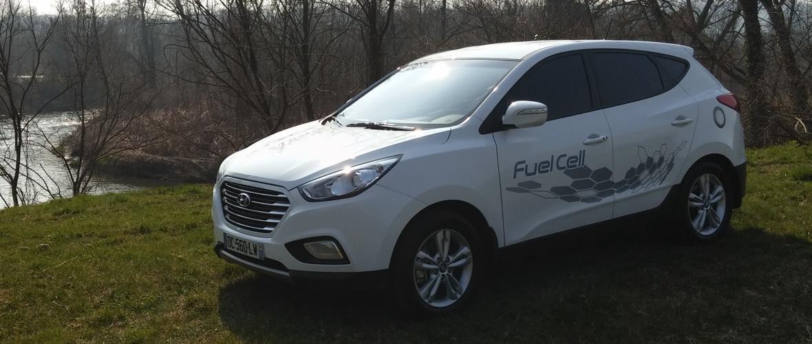 Essai Hyundai ix35 Fuel Cell : le premier élément