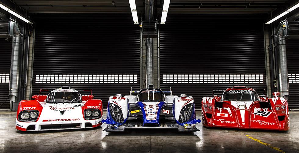 24 Heures du Mans : la collection privée Toyota