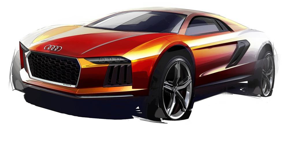 Dessin : Audi Nanuk