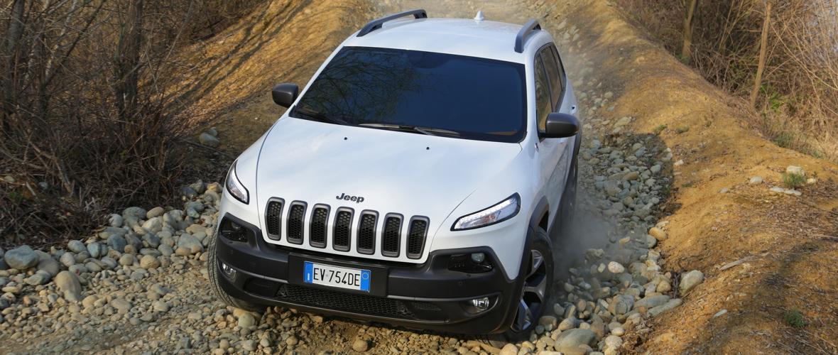 Essai Jeep Cherokee : Turin, MI