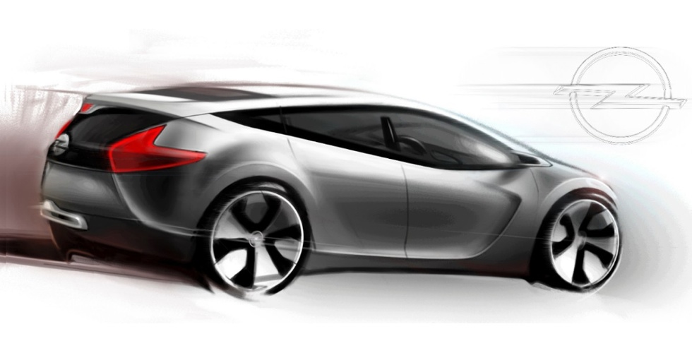 Dessin : Opel Astra