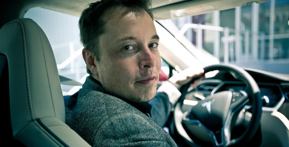 Les hommes : Elon Musk