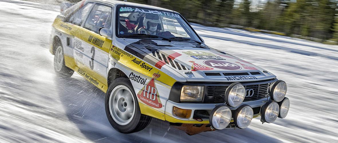 Audi en rallyes : les 10 dates clés (ou un peu plus)