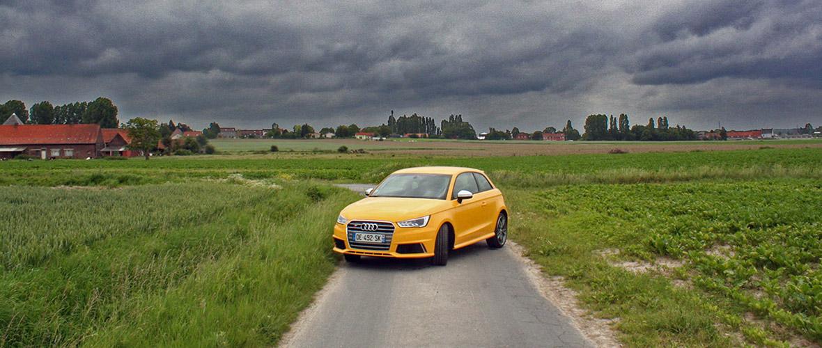 Essai : Audi S1, rallycar de série