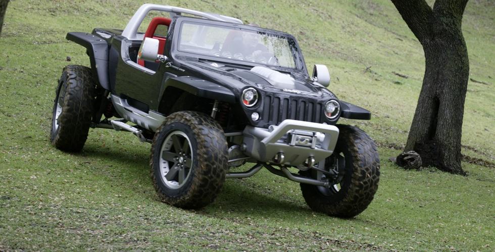 Concept Car : Jeep Hurricane