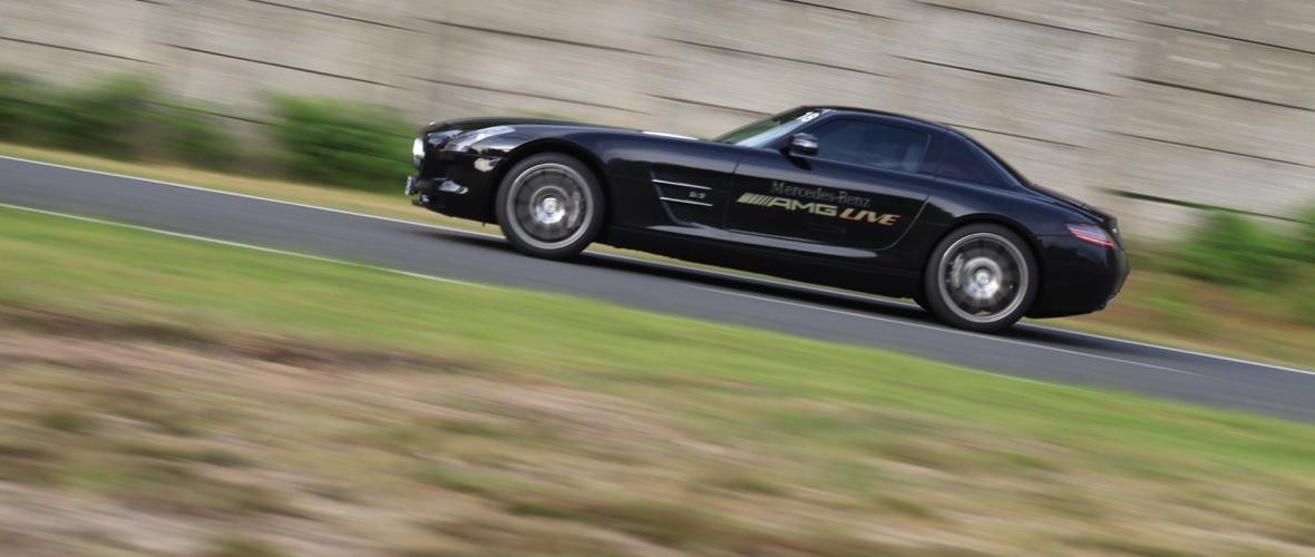 Essai Mercedes SLS AMG : Hergestellt in Affalterbach