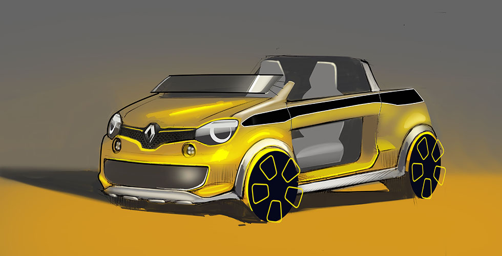 Twing'Hot : Renault créé le Foodtruck Twingo