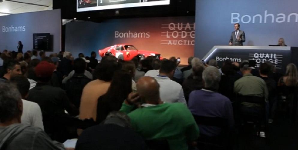 Record attendu, record battu pour la Ferrari 250 GTO