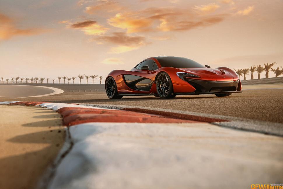 Photos : McLaren P1 à Bahrein