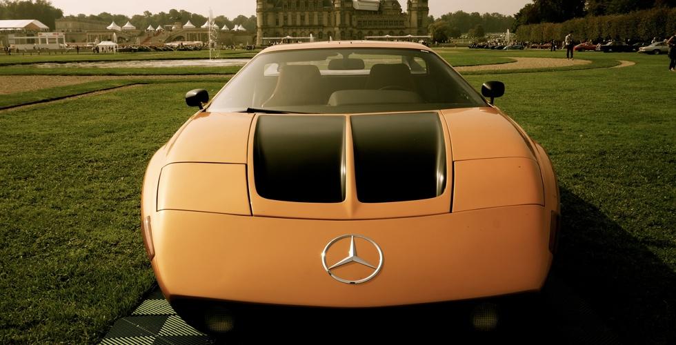Chantilly : Mercedes-Benz C111/II