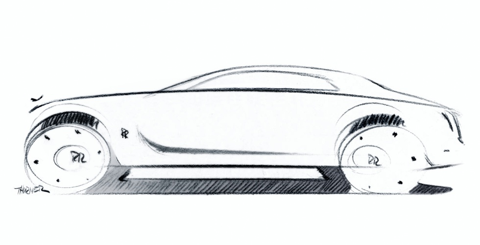 Dessin : Rolls-Royce Ghost
