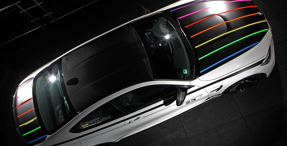 BMW M4 DTM Champion Edition, aux couleurs Ice Watch