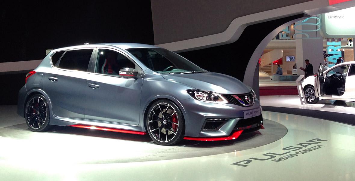 Nissan Pulsar Concept : celle qui faut produire. #MondialAuto