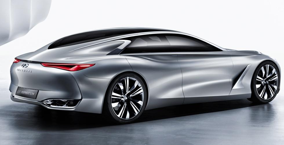 Paris 2014 en direct : Infiniti Q80 Inspiration. #MondialAuto