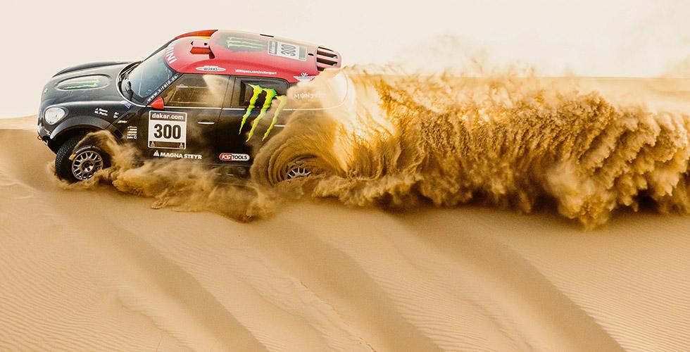 Neuf MINI Countryman au Dakar 2015