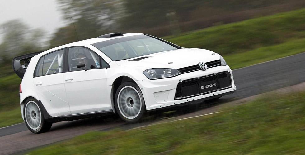 Volkswagen Golf CRC par Prodrive : l'autre WRC