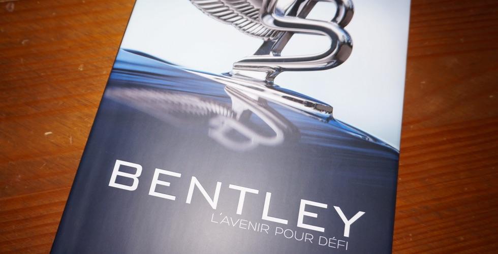 Livre : Bentley L'avenir pour défi