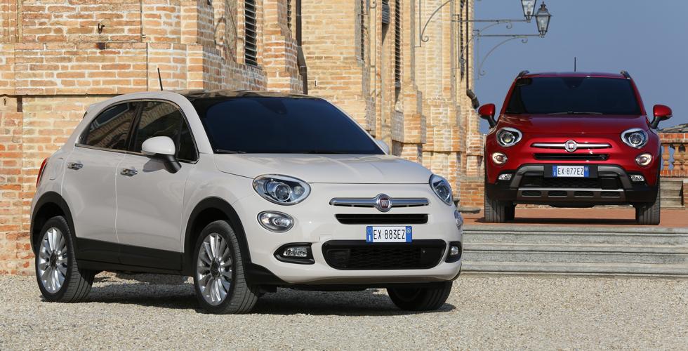 FIAT 500X : le culte à l'italienne