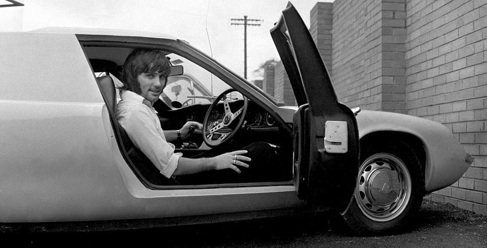 George Best et le meilleur des voitures