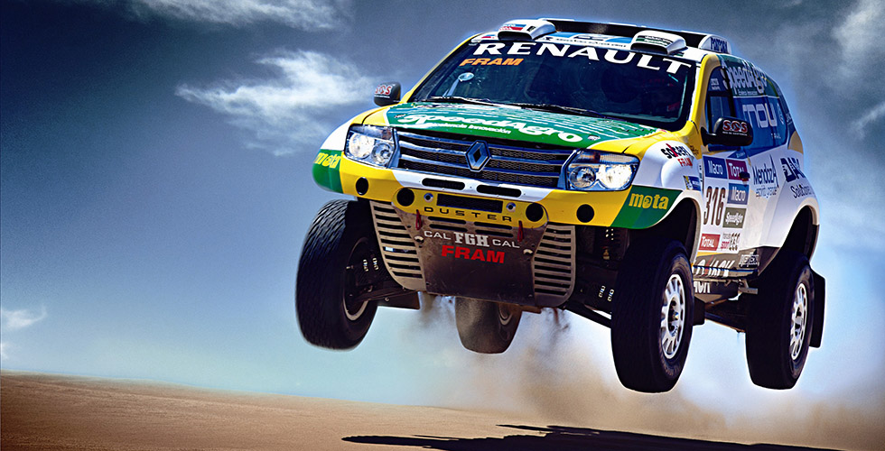 Dakar 2015 : Renault Argentine aux avant-postes avec Duster