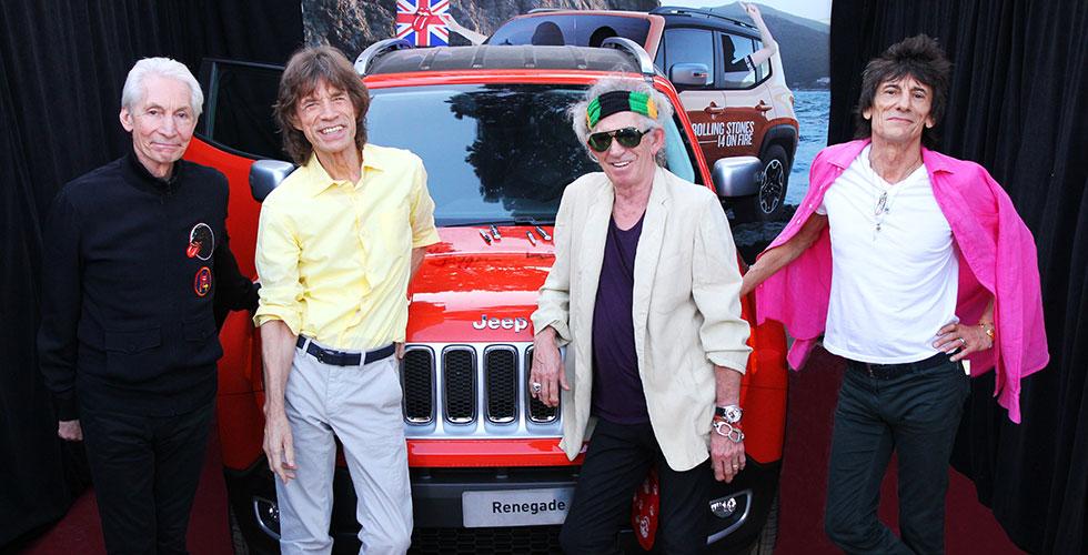 Commissaire-priseur : Jeep Renegade Rolling Stones
