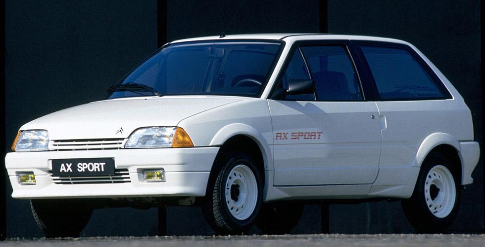 _CULT : la Citroën AX Sport de Françoise Sagan
