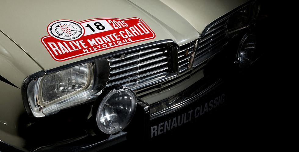 Rallye Monte Carlo Histo : les R16 et R12 Gordini officielles