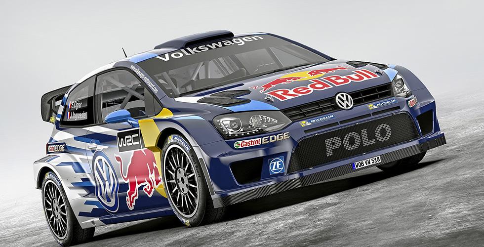 Volkswagen Polo WRC 2015 : haut en couleurs