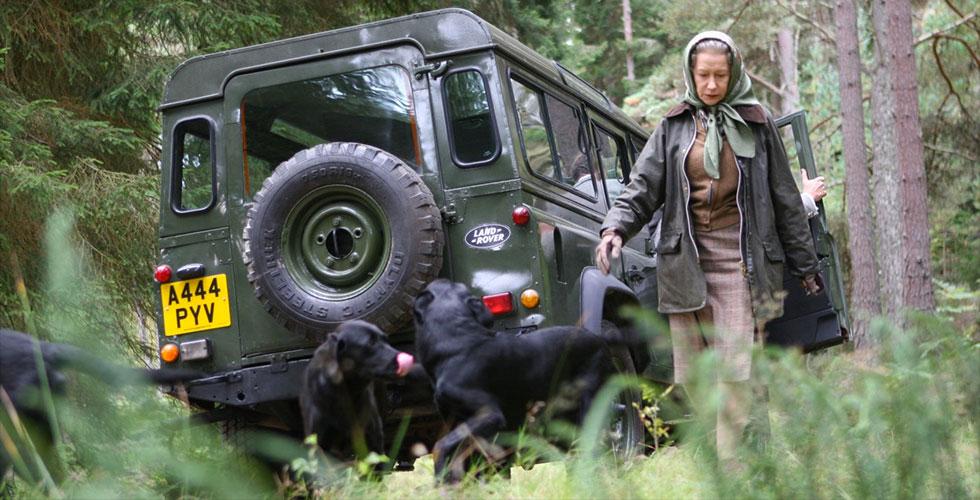 Leçon royale en Land Rover
