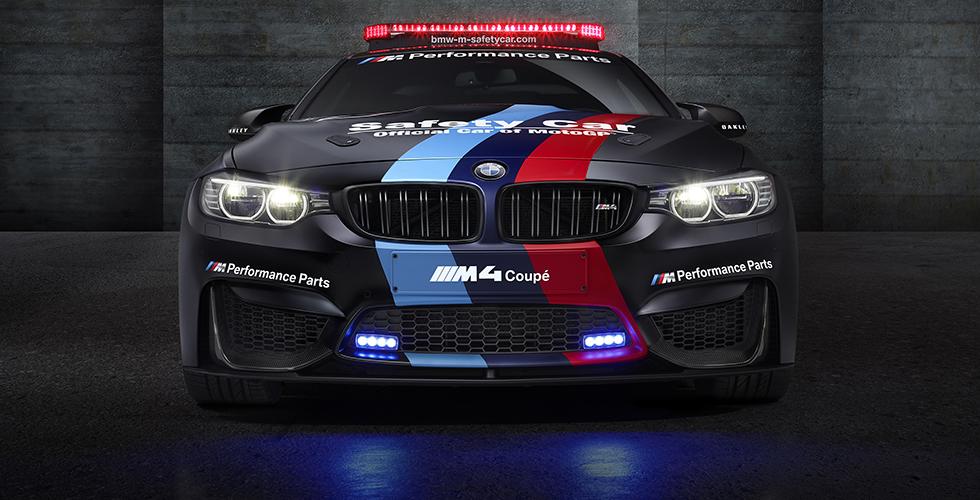 BMW M4 Coupé, safety MotoGP 2015