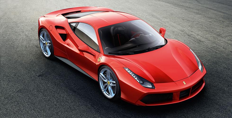 Nouveauté : Ferrari 488 GTB