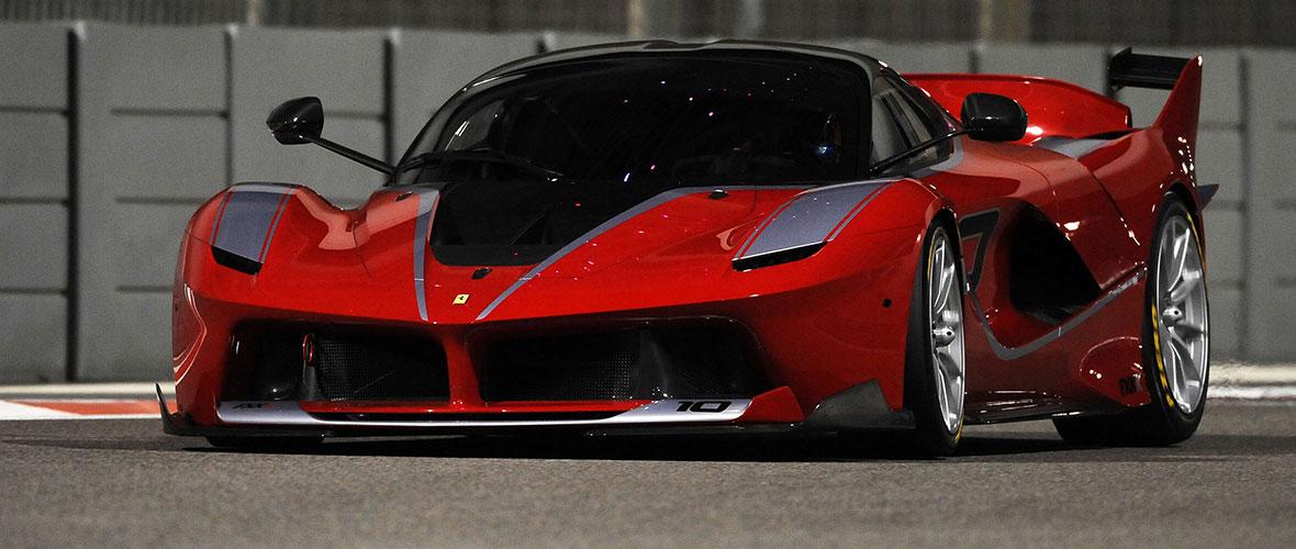 XX : le car porn par Ferrari