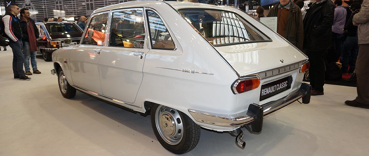 Rétromobile 2015 : 50 ans de Renault 16
