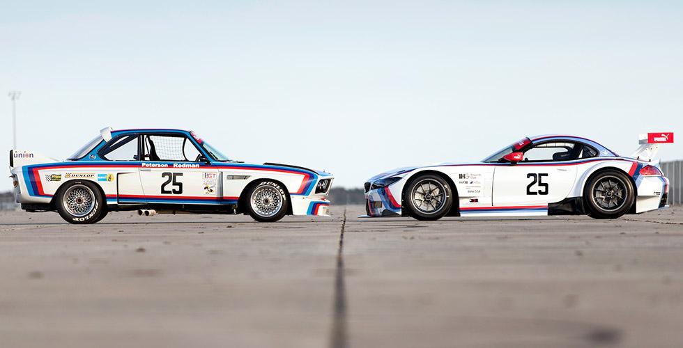 BMW Z4 GTLM : 40 ans après Sebring 1975