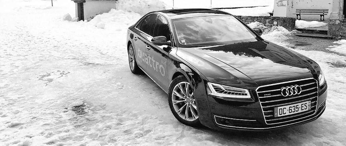 1500 kilomètres pour un essai : Audi A8 quattro
